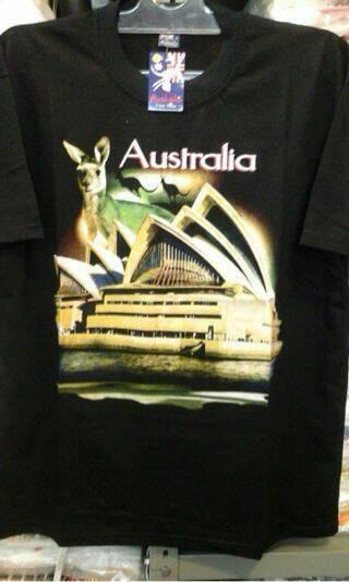 harga Kaos souvenir australia hitam Tokopedia.com
