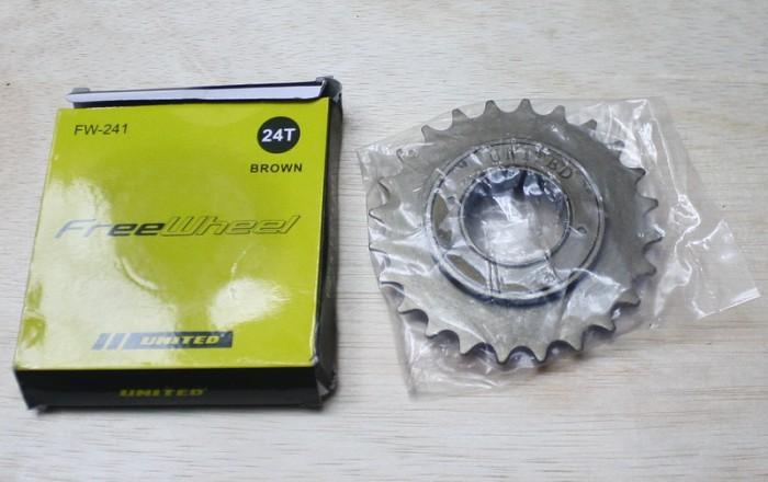 harga Freewheel sprocket bmx single speed 24t (brown) Tokopedia.com
