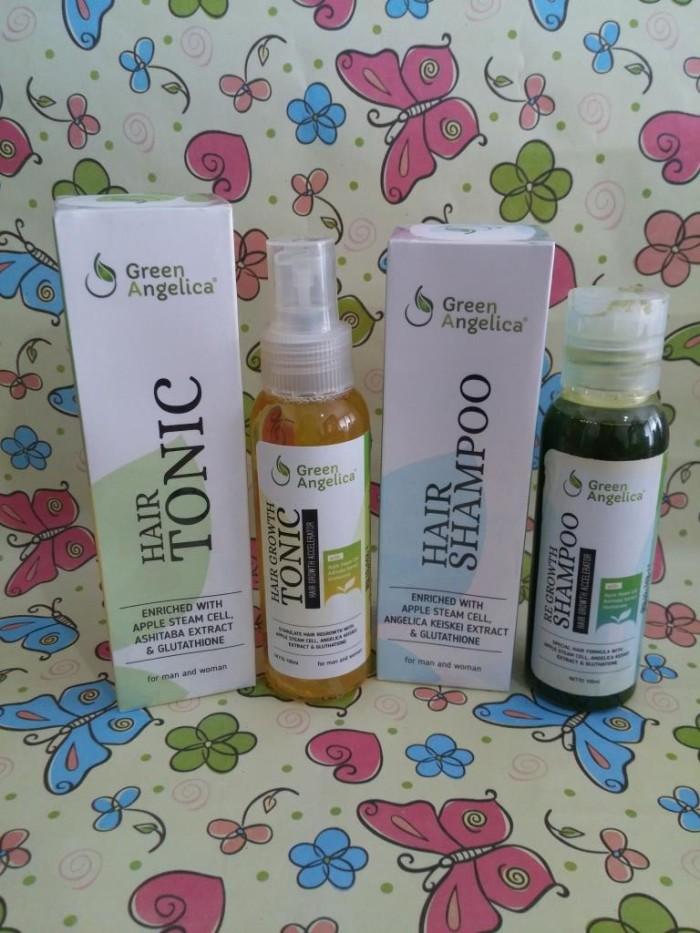 Foto Produk Green Angelica Paket Combo 2 Obat Penumbuh Rambut Mengatasi Kerontokan dari Gracia Angelica
