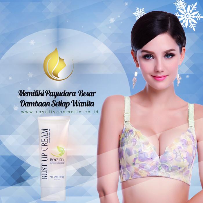 Foto Produk Cream Pembesar & Pengencang Payudara Alami Royalty Bust Up Cream dari Gracia Angelica
