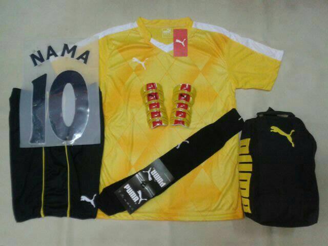 ... harga Setelan baju futsal bola puma printing evo power kuning  Tokopedia.com 5e024996e4