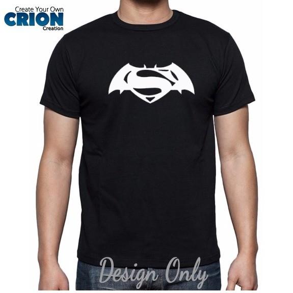harga Kaos batman vs superman - original logo batman vs superman - by crion Tokopedia.com