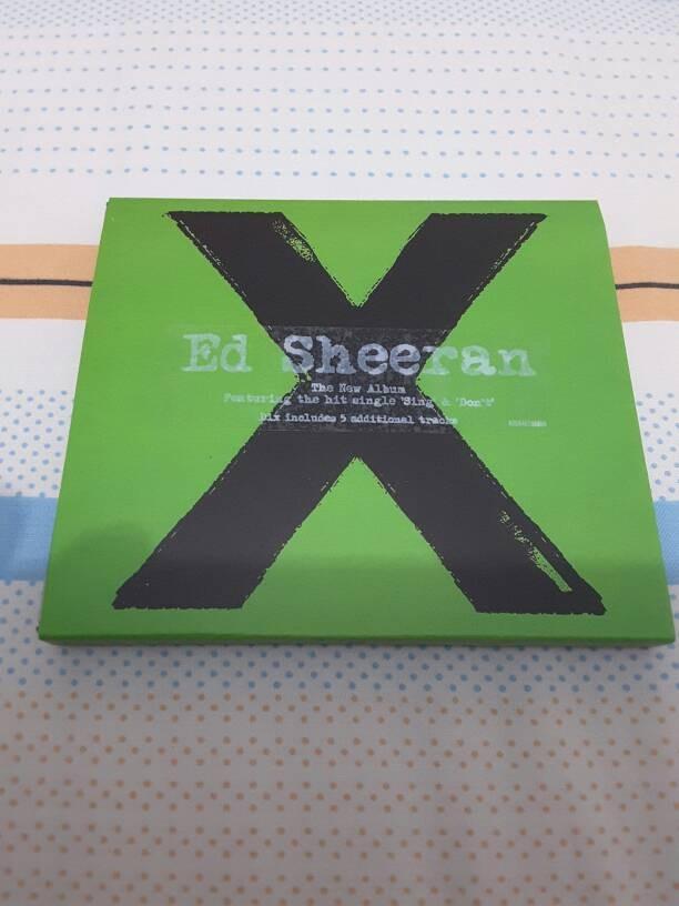 harga Cd ed sheeran x deluxe edition imported eropa Tokopedia.com