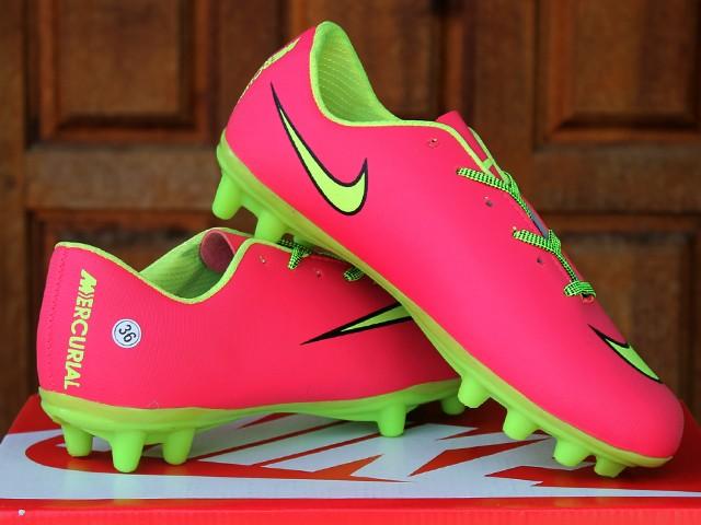 39eec63187 Jual sepatu bola Nike Mercurial Bola Pink (keren