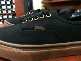 Vente De Chaussures Vans Authentique Gomme Noire lU0XpXciM