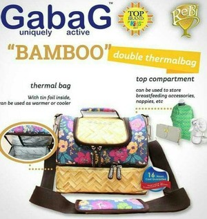 Cooler Bag / Tas Gabag Bamboo