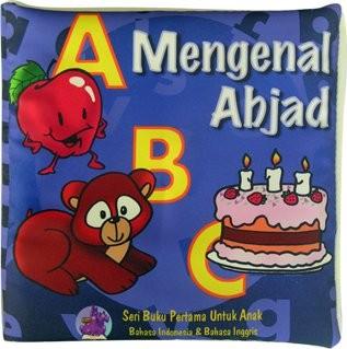 Foto Produk buku bantal mengenal Abjad, Mainan edukatif / edukasi anak bayi balita dari Edukasi Toys
