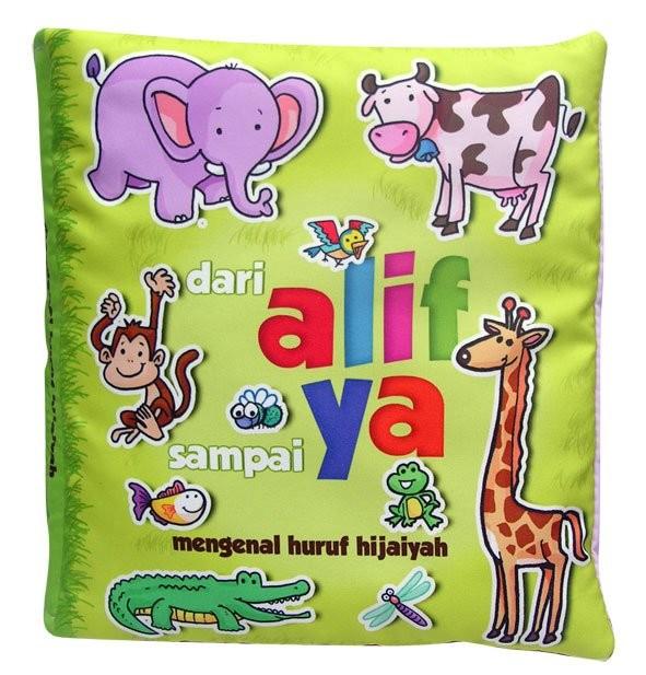 Foto Produk buku bantal mengenal Hijaiyah, Mainan edukasi anak bayi balita unik dari Edukasi Toys