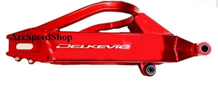 harga Swing arm delkevic red ninja250 / ninja 250fi/ z250 termurah Tokopedia.com
