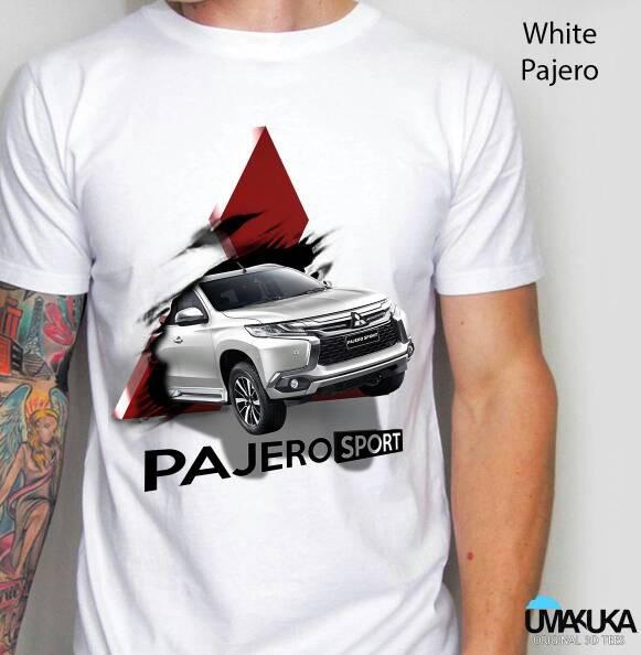 harga White pajero sport - kaos 3d umakuka bandung/kaos unik/keren Tokopedia.com