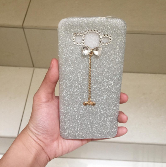 harga Glitter bow soft case for samsung j5/ a8/ a5/  s4/ s5/ note 3/ note 4 Tokopedia.com