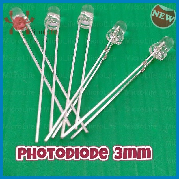 Foto Produk Photodiode 3mm Photodioda Sensor Cahaya dari MicroLife