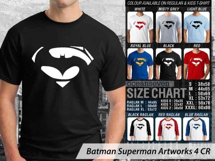 harga Kaos distro oceanseven - batman vs superman logo Tokopedia.com