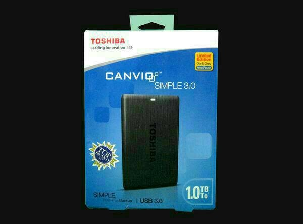 harga Hdd / harddisk external toshiba canvio simple 2 1 tb Tokopedia.com