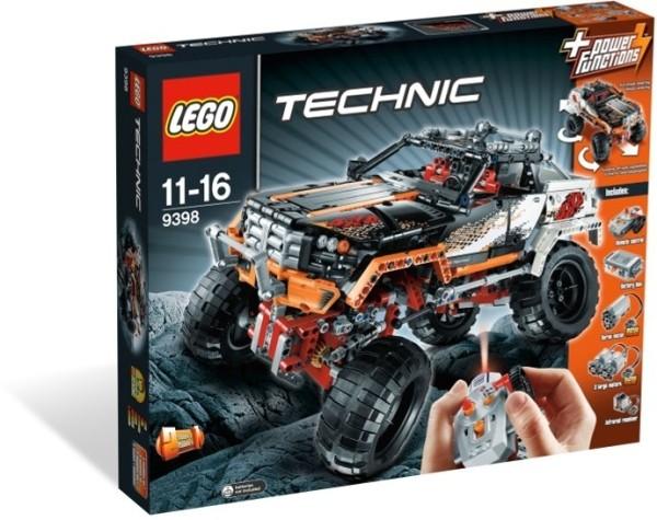 Jual Lego Asli 9398 Technic 4 X4 Crawler Brick Terbaik Brick Toys