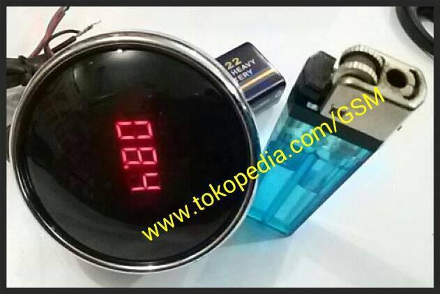 harga Voltmeter volt meter digital aksesoris motor mobil Tokopedia.com