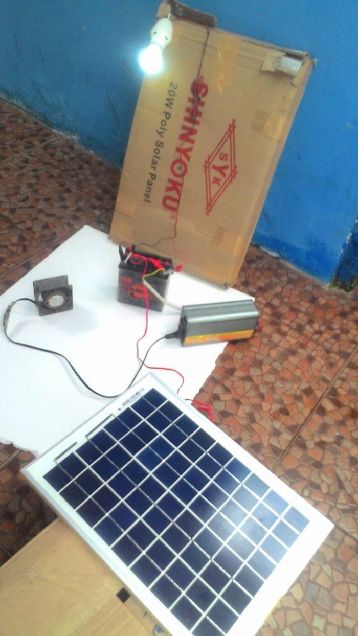 Solar Cell Panel Surya Shinyoku 20wp Poly High Quality Spec Dan Tambahan Triplek Untuk 10wp 20 Wp Tenaga Matahari