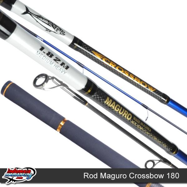 harga Joran pancing maguro crossbow 180 Tokopedia.com