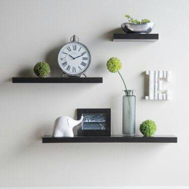 ... rak hiasan dinding 1 set ambalan floating shelf ukuran 80 60 40