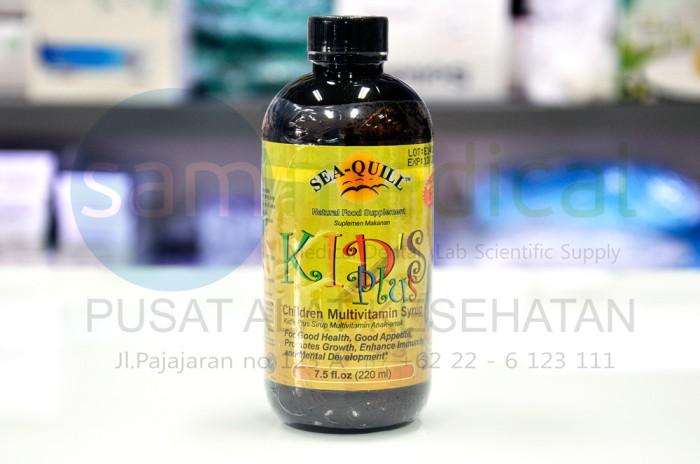 Sea Quill Kids Plus / SeaQuill Vitamin Anak sirup ORI