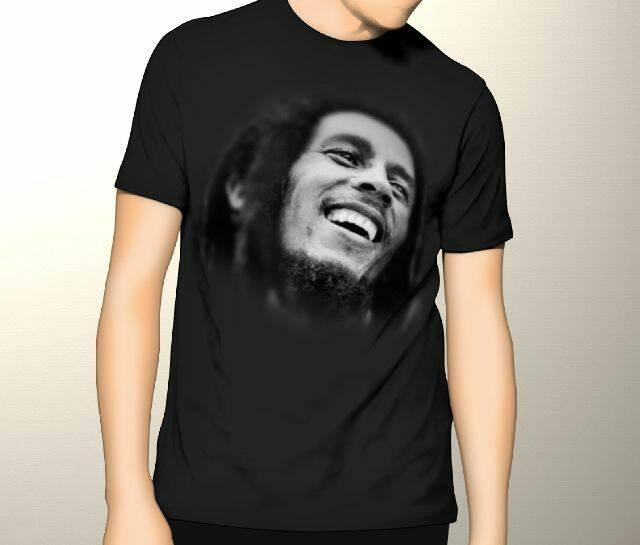 harga Kaos 3d Umakuka - Bob Marley Tokopedia.com