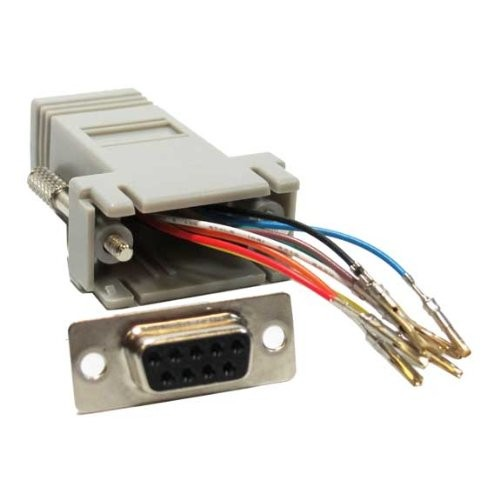 harga Sf cable db9 f female to rj45 f modular adapter high quality af53 Tokopedia.com