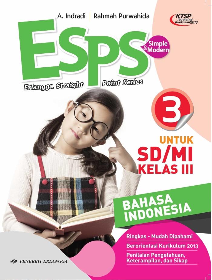 harga Esps: b. indonesia sd/mi kls.iii/ktsp- buku erlangga Tokopedia.com