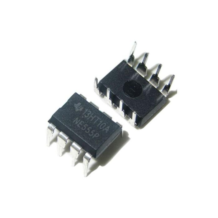 Foto Produk NE555 NE 555 NE555P DIP 8 Precision Timers NE 555P DIP-8 AF60 dari toko puwei