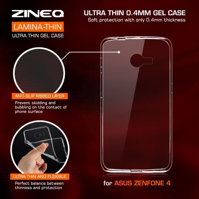harga Asus zenfone 4 ultra thin soft jelly silicon silikon case softcase Tokopedia.com