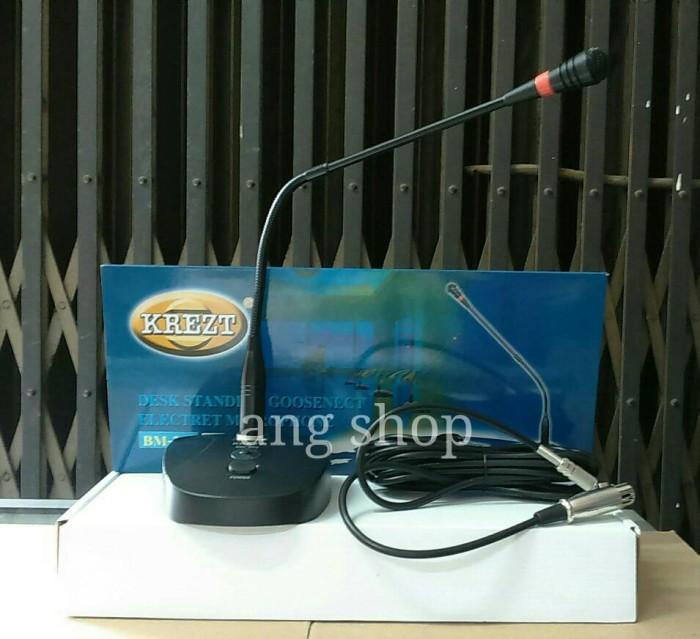 harga Mic meja desktop microphone krezt bm 302 bm302 bm-302 ( ada bell ) Tokopedia.com
