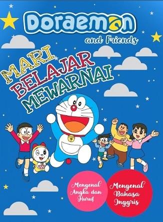 Jual Mari Belajar Mewarnai Doraemon Smalleers Shop Tokopedia