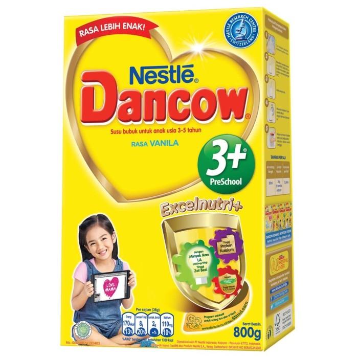 harga Dancow 3+ vanila 800gr Tokopedia.com