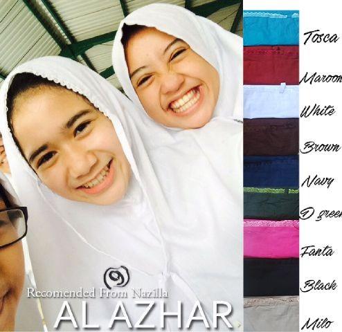 Jual Kerudung Al Azhar Jilbab Instan Bergo Kerudung Sekolah