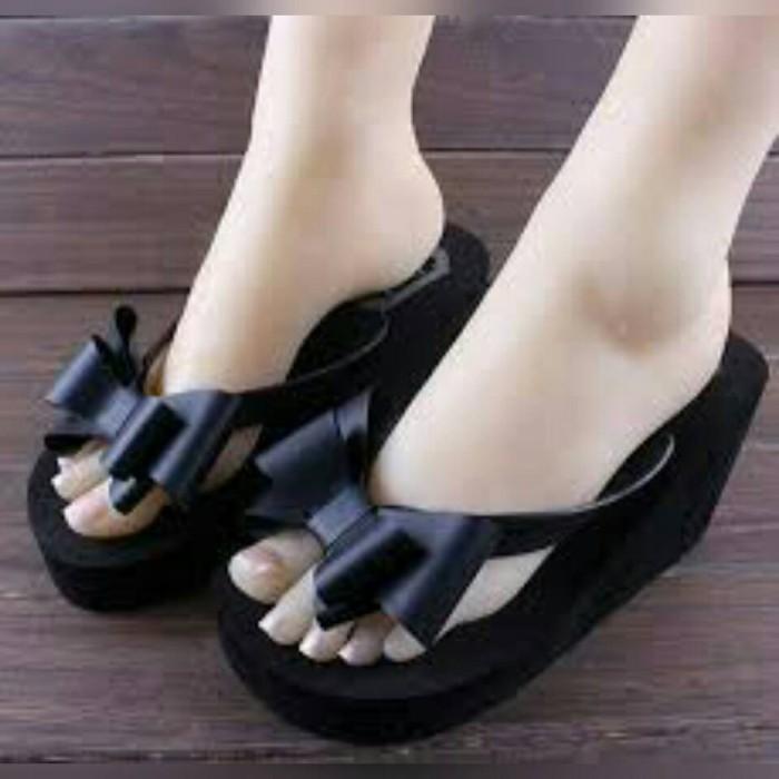 d3ea8d6fe17f Jual Jelly Shoes Pita Ribbon Elizabeth Js30 Sandal Jelly