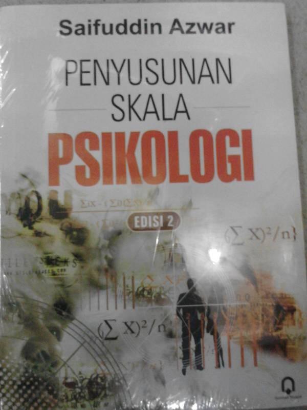 harga Penyusunan skala psikologi-penerbit:pustaka pelajar Tokopedia.com