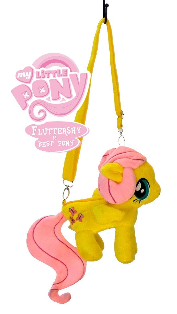 Jual Tas Anak Cewek My Little Kuda Pony Poni Small Fluttershy Kid Selempang Girl Bag