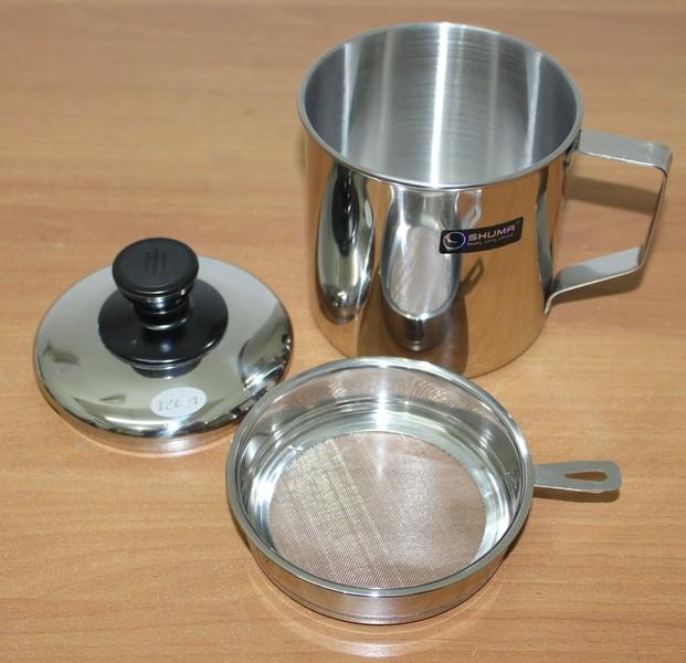 Oil Pot Shuma 0.7 Lt | Wadah Minyak | Saringan Minyak