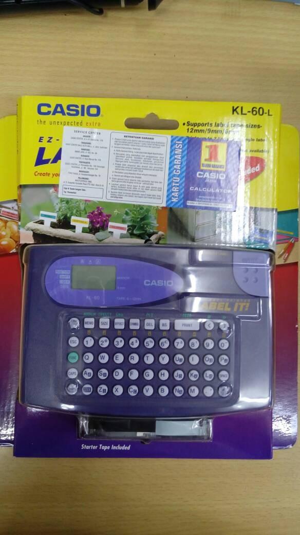 harga Casio ez- label printer kl-60-l original Tokopedia.com