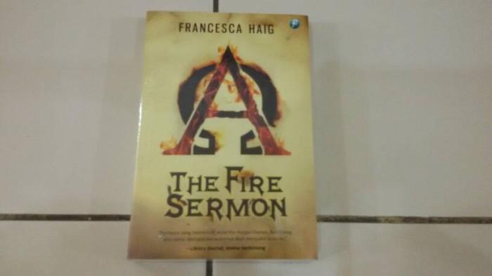 harga Novel the fire sermon (fire sermon #1) - francesca haig Tokopedia.com
