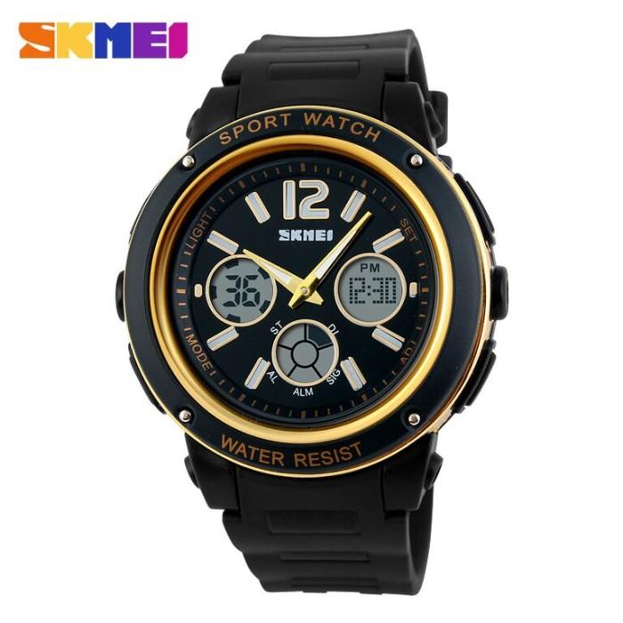Jam tangan original skmei casio sporty waterproof olahraga