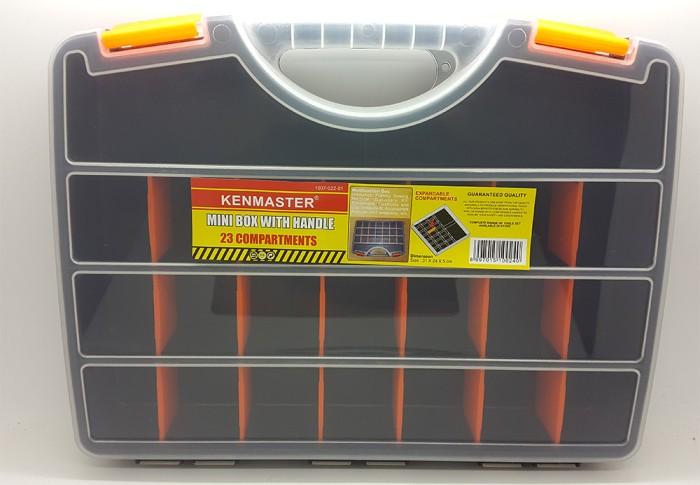Foto Produk RAK KOMPONEN MINI / MINI BOX PLASTIK / KOPER PLASTIK MINI KENMASTER dari Merry Fashion