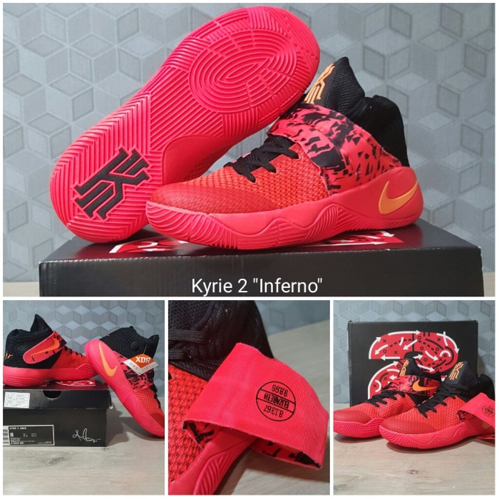 ... reduced sepatu basket nike kyrie 2 inferno red harga . d0e93 f07eb 7c794f8f23