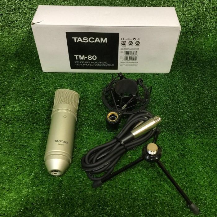 harga Tascam tm-80 studio condenser microphone Tokopedia.com