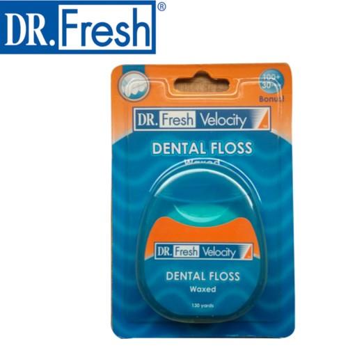 harga Dental Floss || Benang Pembersih Gigi Dr Fresh 130 Yards Tokopedia.com