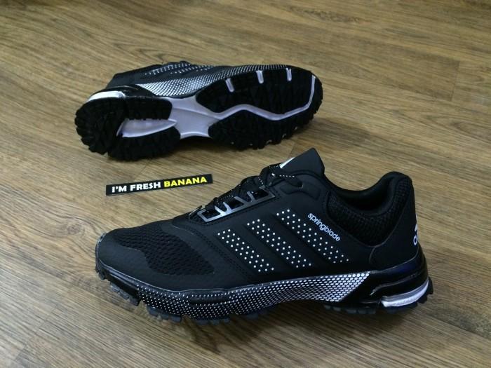 8c6d74fbc5eb Jual Sepatu Running Adidas Springblade Marathon Spring Blade Black ...