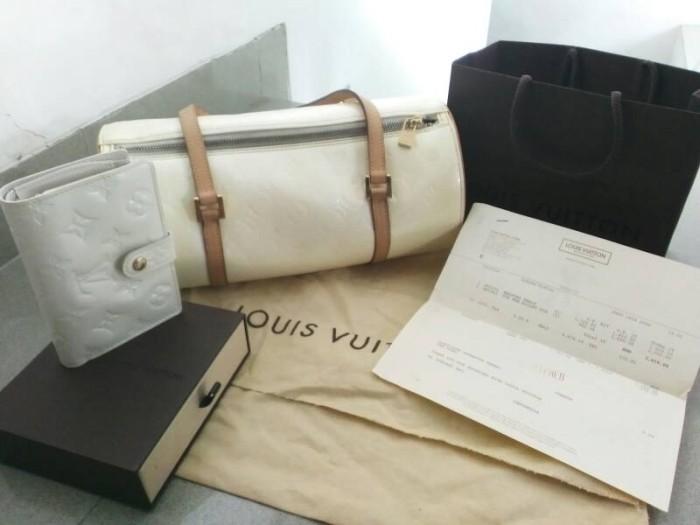 Jual preloved second tas LV louis Vuitton bedford original authentic ... e0ed821b48