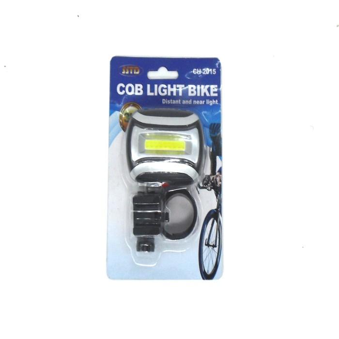 harga Lampu sepeda led cob 3w ch2015  ( double switch colour red & white ) Tokopedia.com