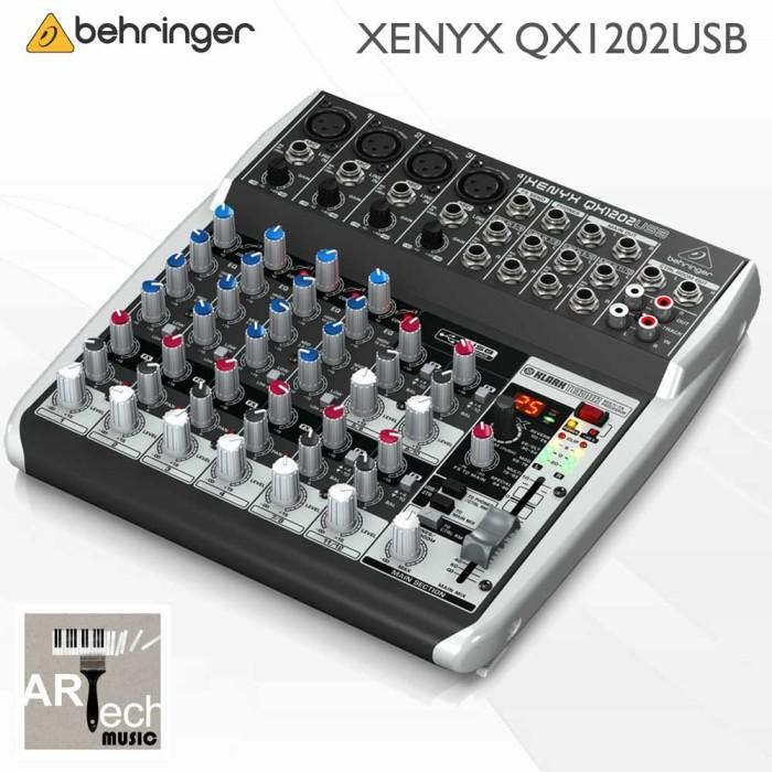 harga Behringer xenyx qx1202usb / qx1202 usb / qx 1202 usb audio mixer Tokopedia.com