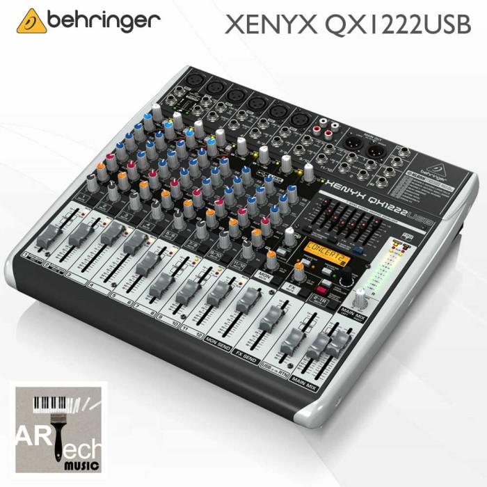 harga Behringer xenyx qx1222usb / qx1222 usb / qx 1222 usb audio mixer Tokopedia.com
