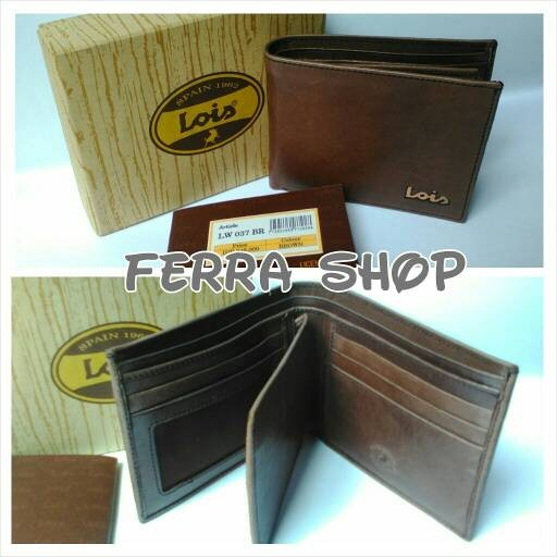 Jual Dompet Cowok   Pria Lois Original Kulit asli - Ferra Shop ... 657094f165